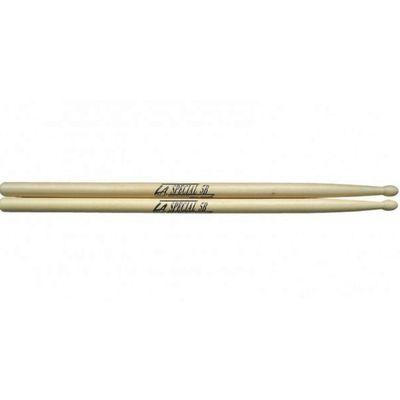 Барабанные палочки Pro Mark LA5BW L.A. Special 5B орех, деревянный наконечник - Фото 1