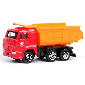 Машина металлическая «Камаз 66», масштаб 1:72, цвета МИКС