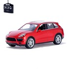Машина радиоуправляемая Porsche Cayenne, масштаб 1:14, работает от аккумулятора, свет , цвет красный, MZ 2045