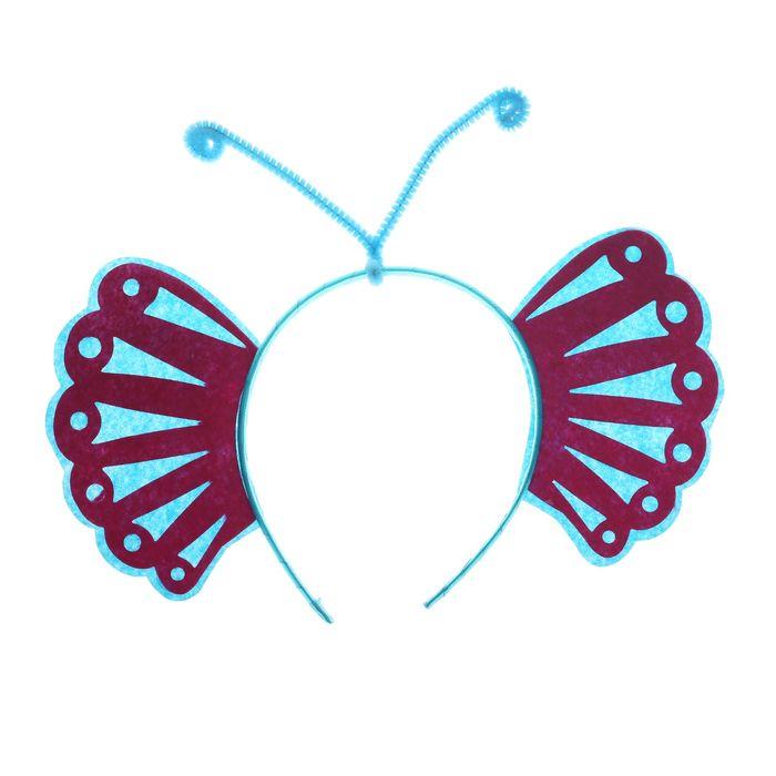 Карнавальный ободок Крылышки