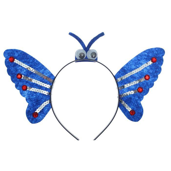 Карнавальный ободок Крылышки, с глазками