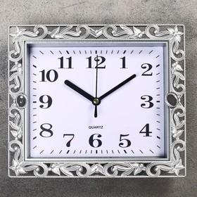 Часы настенные, серия: Классика, 'Ирэн', 21х18 см, дискретный ход, Ош