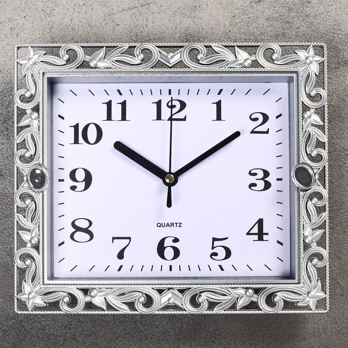 Часы настенные, серия Классика, Ирэн, 21х18 см, дискретный ход