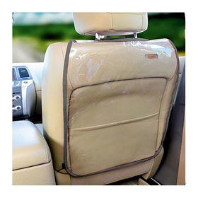 Накидка-незапинайка на спинку сиденья Siger Safe-3, прозрачная