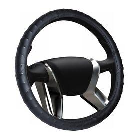 Оплетка на руль ВАЗ 2108-15 винил, чёрная