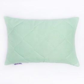 Подушка Бамбук+Латекс высокая 50х68 см зел., бамбуковое волокно/натур.латекс, микрофибра, пэ100%   2