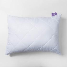 Подушка Бамбук высокая 50х68 см белый, бамбук/силиконизированное волокно, микрофибра, пэ100%   27248