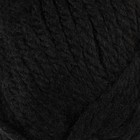 """Пряжа """"Jersey"""" 30% шерсть, 70% акрил 74м/100гр (1952 черный)"""