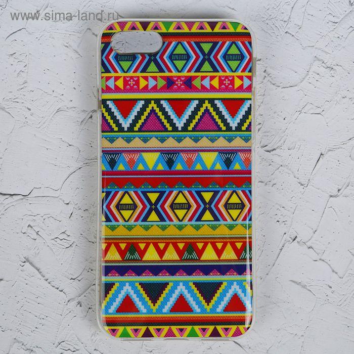 Чехол Luazon для iPhone 7, орнамент MZF-0013