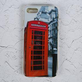 Чехол Luazon для iPhone 7, Phone booth Ош