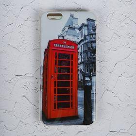 Чехол Luazon для iPhone 6 Plus, Phone booth Ош
