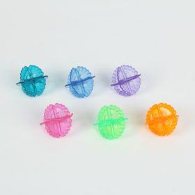 Набор шаров для стирки, d=5 см, 6 шт, цвет МИКС Ош