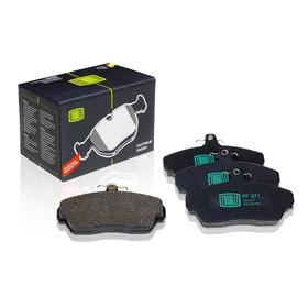 Колодки тормозные дисковые передние для автомобилей ГАЗ 3302 ГАЗель 3302-3501080, TRIALLI PF 971 Ош
