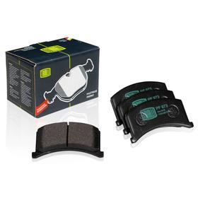 Колодки тормозные дисковые передние для автомобилей ЗАЗ 1102 Таврия 1102-3501090, TRIALLI PF 973 Ош