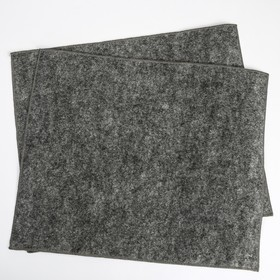 Коврики влаговпитывающие ZEBRA, двухслойный, 37 х 45 см, набор 2 шт Ош