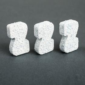 Таблетированный стеклоочиститель ZEBRA, всесезонный, 3 таблетки Ош