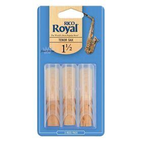 Трости для саксофона Rico RKB0315Royal тенор, размер 1.5, 3шт