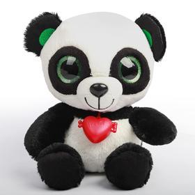 Мягкая игрушка «Глазастик Панда», 21 см
