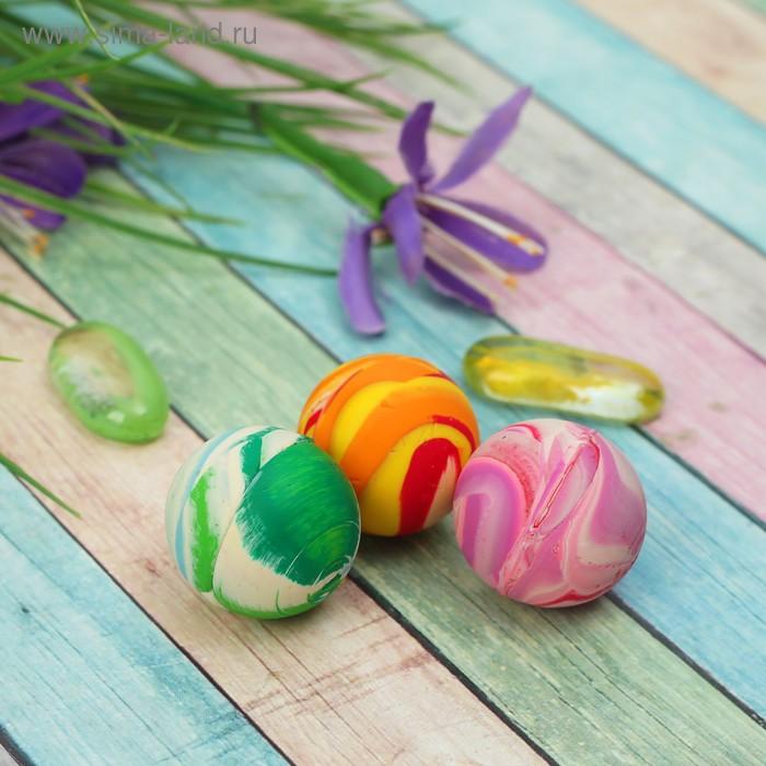 Мяч каучуковый цветной, цвета МИКС