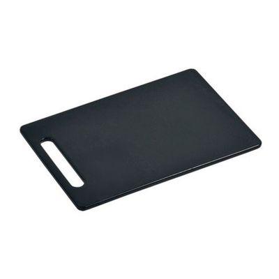 Доска разделочная, 30 х 20 х 0,8 см, чёрный пластик