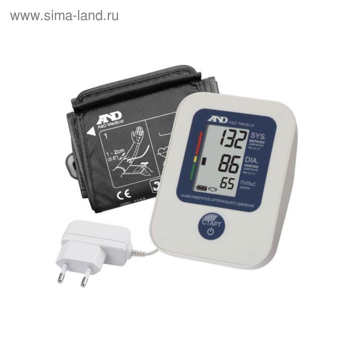 Тонометр электронный автоматический на плечо UA-888 (Эконом) с адаптером A&D