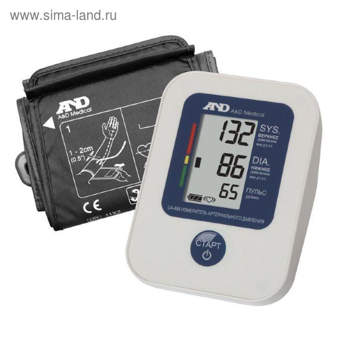 Тонометр электронный на плечо AND UA-888, эконом, автоматический