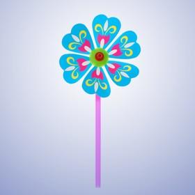 Ветерок «Яркий цветок», цвета МИКС Ош