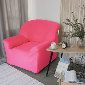 Чехол для мягкой мебели в детскую Collorista на кресло, наволочка 40х40 см в подарок, розовый Ош