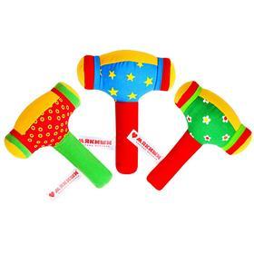 Развивающая мягкая игрушка «ШуМякиши. Молоточек», МИКС