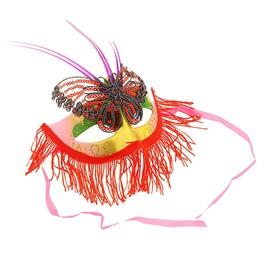 Карнавальная маска 'Бабочка', цвета МИКС Ош