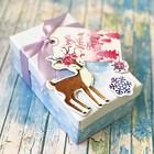 новогодние наборы для декора коробки