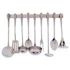 Набор кухонных принадлежностей, 9 предметов, на подвесе - Фото 1