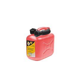 Канистра пластиковая для технических жидкостей, красная 5 л 'ГЛАВДОР' Ош
