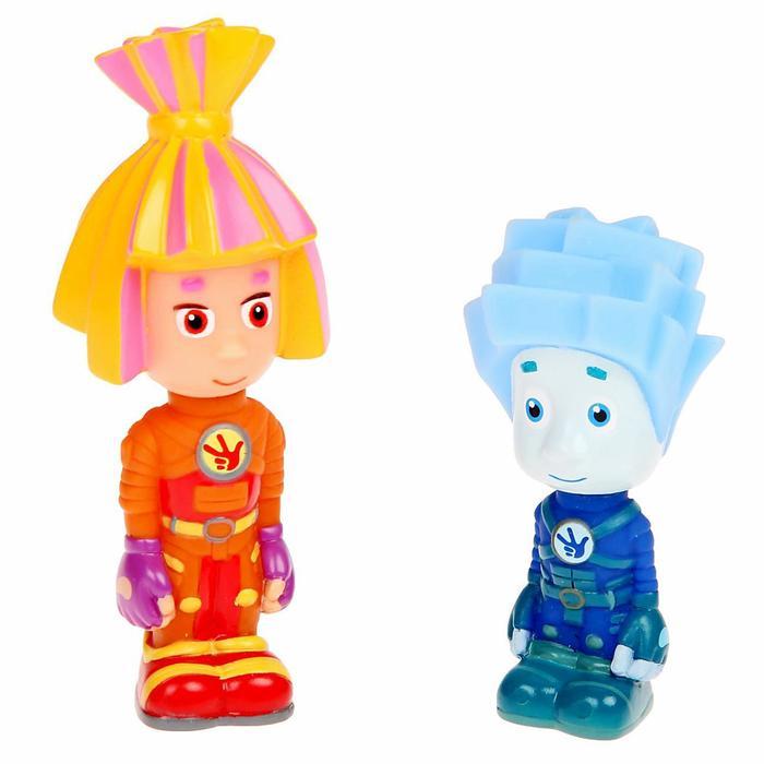 Игрушка для ванной «Фиксики: Нолик и Симка», в сетке