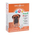 Витамины Smile Dog для собак, с L-карнитином, 100 таб
