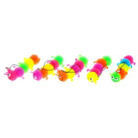 Ёжка «Сороконожка», резиновый, на брелоке, цвета МИКС Ош
