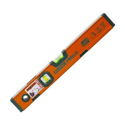 Уровень KRAFTOOL KRAFT-MAX магнитный, усилен, 2 ампулы, 2 фрезерованные поверхности, 40 см   272763