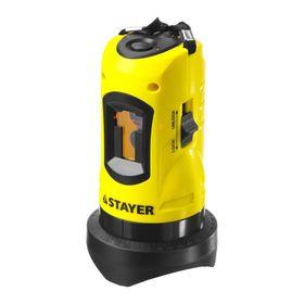 Нивелир  'STAYER' SLL-1 34960, лазерный, линейный, дальность 10м, точн. +/-0,5 мм/м Ош