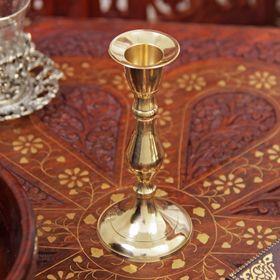 "Подсвечник на 1 свечу ""Талия"" латунь 13х6х6 см"