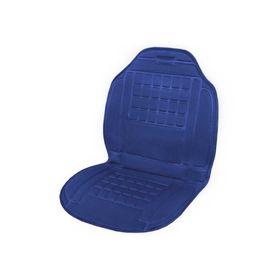 Подогрев сиденья SKYWAY, 9 5х 47 см, 12 В, 2,5 А-3 А, синий, левый руль Ош