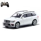Машина радиоуправляемая Mercedes-Benz GL550, масштаб 1:18, работает от аккумулятора, световые эффекты, цвет белый