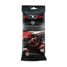 Салфетки для салона REXXON, глянцевый эффект, 25 шт Ош
