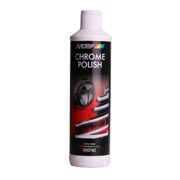 BLACK LINE Очиститель хрома с защитным эффектом, 500 мл, MOTIP