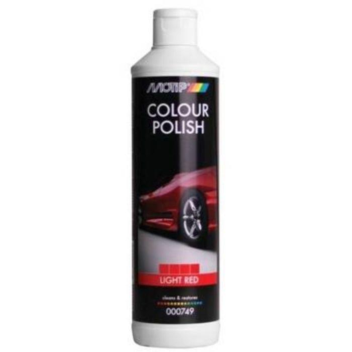 BLACK LINE Полироль MOTIP цветообогащённый, светло-красный, 500 мл