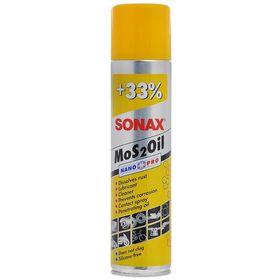 Смазка универсальная MoS2Oil NanoPro, 400 мл, SONAX, 339400