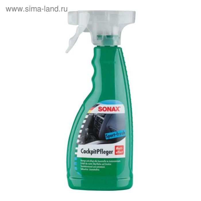 Очиститель-полироль для пластика триггер Матовый эффект Спорт Активная свежесть, 500 мл, SONAX   271