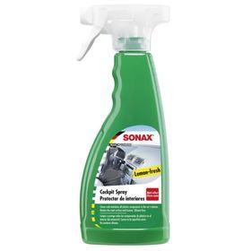 Очиститель-полироль для пластика триггер Матовый эффект Лимон, 500 мл, SONAX, 358241