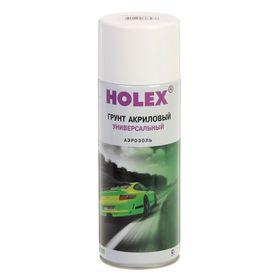 Грунт акриловый HOLEX аэрозоль 520 мл, белый Ош