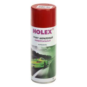 Грунт акриловый HOLEX аэрозоль 520 мл, красно-коричневый Ош