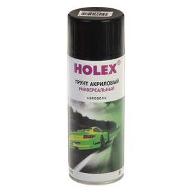 Грунт акриловый HOLEX аэрозоль 520 мл, чёрный Ош
